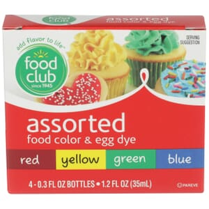 Assorted Food Color & Egg Dye