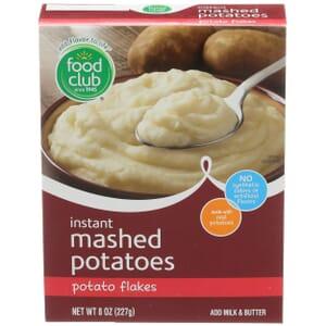 Instant Mashed Potatoes, Potato Flakes