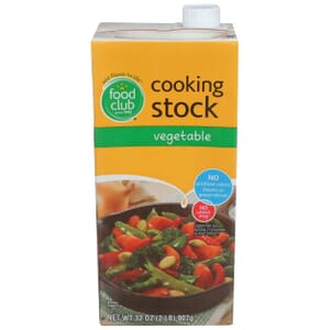 Cooking Stock, Vegetable