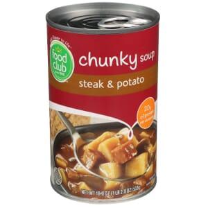 Steak & Potato Chunky Soup