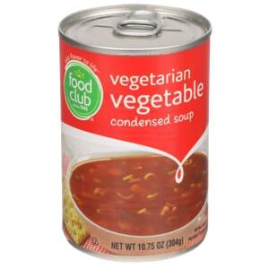 Vegetarian Vegetable Condensed Soup