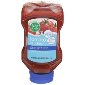 Tomato Ketchup - 50% Less Sugar & Sodium