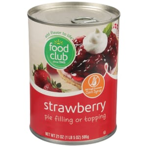 Strawberry Pie Filling Or Topping