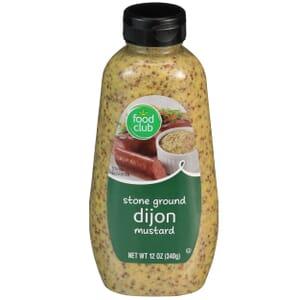 Stone Ground Dijon Mustard
