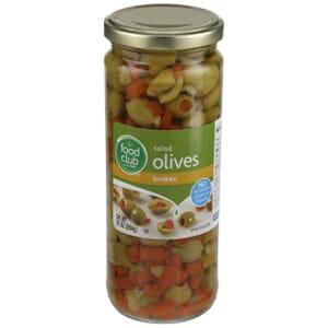 Salad Olives, Broken