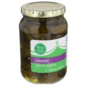 Sweet Petite Pickles
