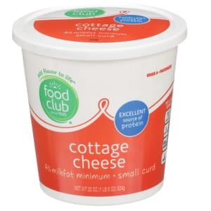 Cottage Cheese, Small Curd