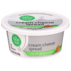 Cream Cheese Spread With Chives & Onions