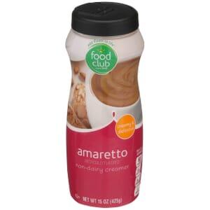 Amaretto Non-Dairy Creamer
