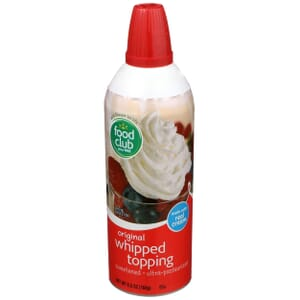 Whipped Topping, Original