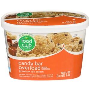 Candy Bar Overload Premium Ice Cream