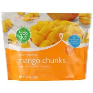 Mango Chunks, Unsweetened