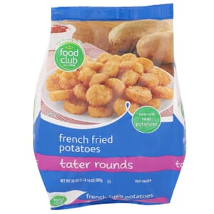 French Fried Potatoes, Tater Rounds