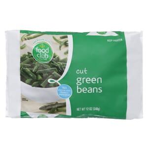 Green Beans, Cut