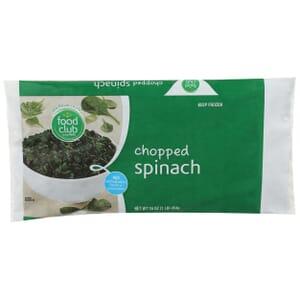 Spinach, Chopped