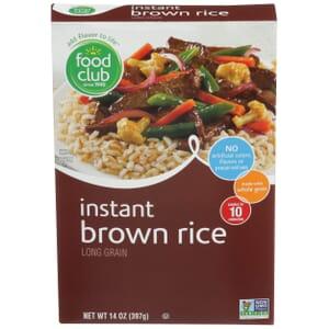 Instant Brown Rice, Long Grain