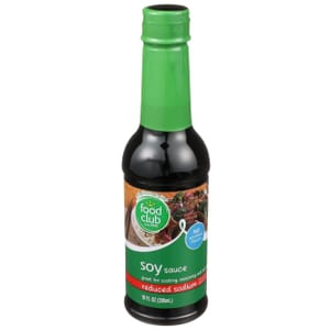 Soy Sauce, Reduced Sodium
