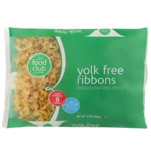 Yolk Free Ribbons