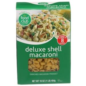 Deluxe Shell Macaroni Pasta