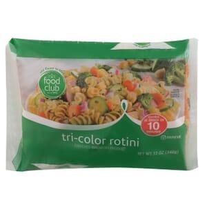 Tri-Color Rotini Pasta