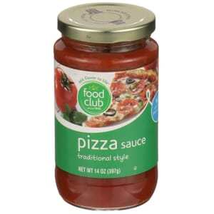Pizza Sauce, Traditional Style