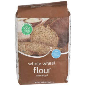 Whole Wheat Flour, Presifted