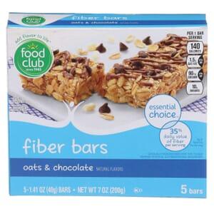 Oats & Chocolate Fiber Bars