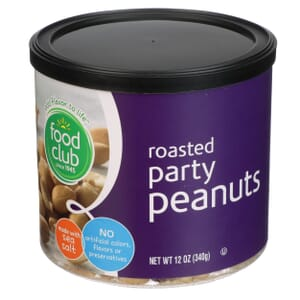 Roasted Party Peanuts