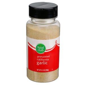 Granulated California Garlic