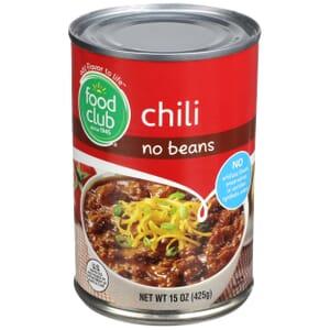 Chili, No Beans