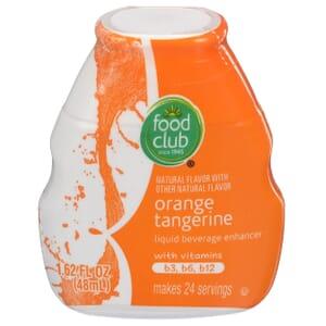 Orange Tangerine Liquid Beverage Enhancer