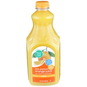 100% Premium Orange Juice, No Pulp, Original