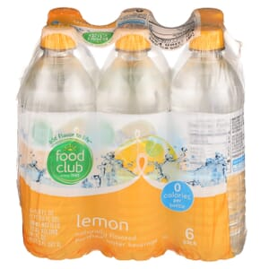 Lemon Purified Water Beverage