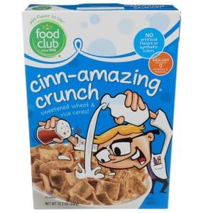Cinn-Amazing Crunch, Sweetened Wheat & Rice Cereal