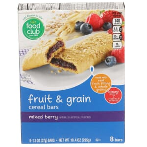 Mixed Berry Fruit & Grain Cereal Bars