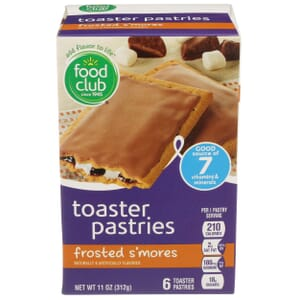 Frosted S'mores Toaster Pastries