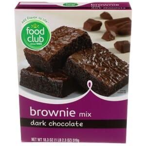 Dark Chocolate Brownie Mix