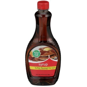 Butter Flavored Syrup, Lite