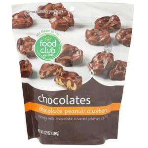 Chocolate Peanut Clusters Chocolates