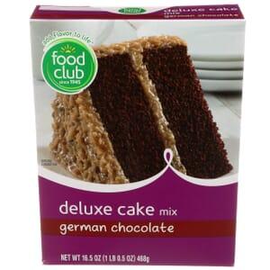 German Chocolate Deluxe Cake Mix