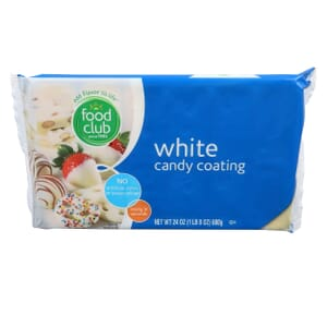 White Candy Coating