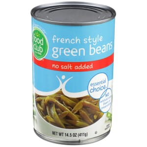 French Style Green Beans - No Salt Added