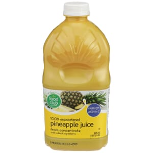 100% Unsweetened Pineapple Juice