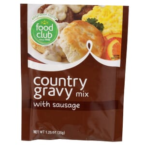 Country, With Sausage Gravy Mix