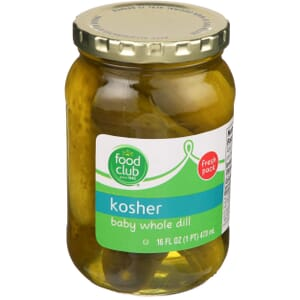 Kosher Baby Whole Dill Pickles