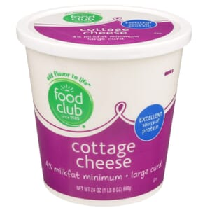 Cottage Cheese, Large Curd