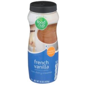 French Vanilla Non-Dairy Creamer
