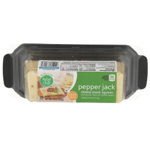 Pepper Jack Cheese Snack Squares