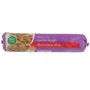 Chocolate Chip Cookie Dough, Family Size