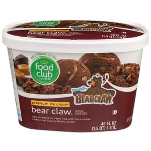 Bear Claw Premium Ice Cream